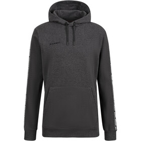Mammut Logo ML Hoody Men, black melange prt1
